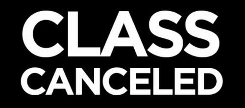 Отменени часове на 17.11.2015г.