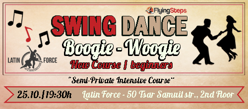SWING – NEW course for BEGINNERS with Flying Steps | 25.10.17