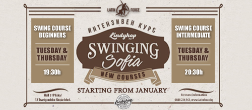 SWING – NEW courses with Lindy Hop Bulgaria | 04.01.18