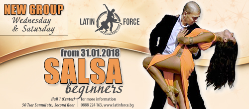 SALSA – NEW group for BEGINNERS | 31.01.18