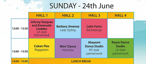 Latin Force @14th FANTA Dance Festival 22-24 June 2018 – Superstars Edition!