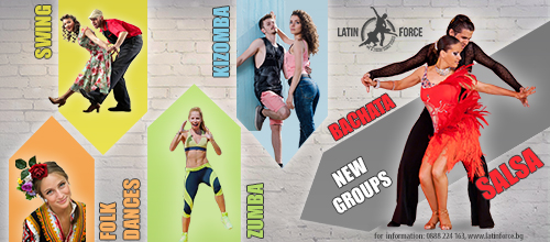 NEW GROUPS in Latin Force Dance Studio | January, 2019