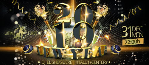 Latin Force New Year Party!