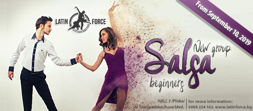 SALSA –  NEW group for BEGINNERS with Kalin and Ivy | 10.09.19