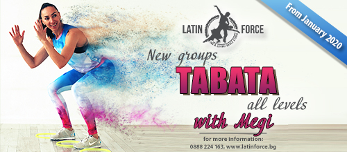 TABATA – NEW groups with Megy | January, 2020