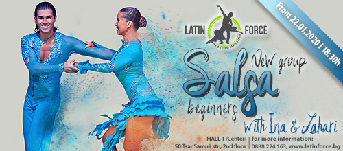 SALSA –  NEW group for BEGINNERS with Ina and Zahari | 22.01.20