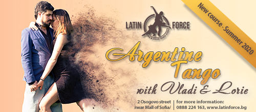 Argentine Tango – NEW course with Vladi and Loriе | 15.06.20