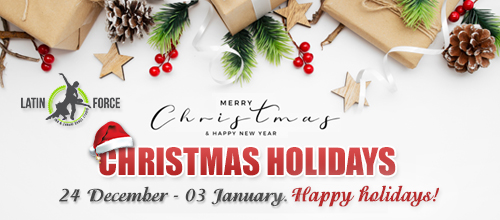 Holiday schedule | 24.12.2020 – 03.01.2021