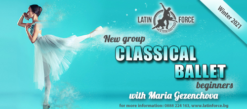 Classical ballet – NEW group for BEGINNERS with Maria Gezenchova  | 01.02.21