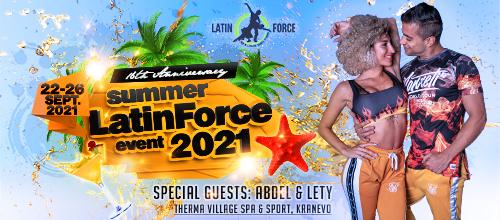 16 години Latin Force със специални гости Абдел и Лети – Кранево, 2021