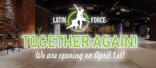 Together again! We are opening on 1st April!