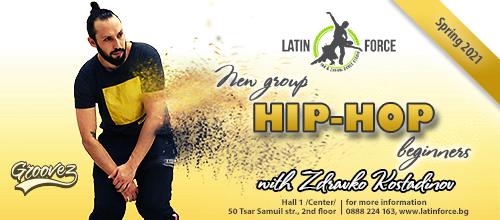 HIP-HOP – NEW group with Zdravko Kostadinov | 12.04.21